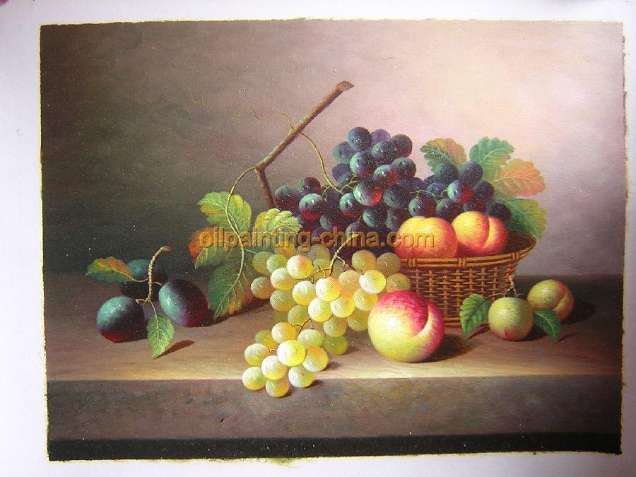 古典水果油画