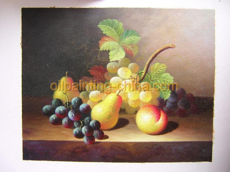 静物油画,水果油画,静物水果图片