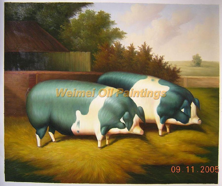 猪油画:rw026 尺寸:20*24英寸